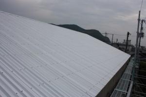 屋根 修理済み