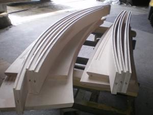メープル階段段板