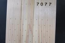 不燃木材の加工